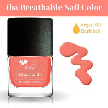 Iba Halal Care Breathable Nail Color, B14 PEACH ECHO – 9ml