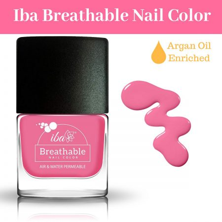Iba Halal Care Breathable Nail Color, B15 HOT PINK – 9ml