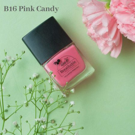Iba Halal Care Breathable Nail Color, B16 PINK CANDY – 9ml