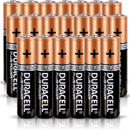 Duracell AAA Plus Power Battery – Pack of 20