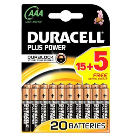 Duracell AAA Plus Power Battery - pack of 10