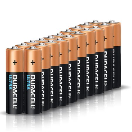 DURACELL Ultra AA 1.5 V Battery Pack of 20