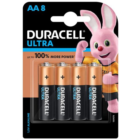 DURACELL Ultra AA 1.5V Battery Pack of 8