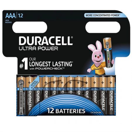 Duracell AAA Ultra Power Battery – Pack of 12