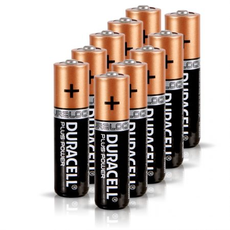 Duracell AAA Plus Power Battery – Pack of 10