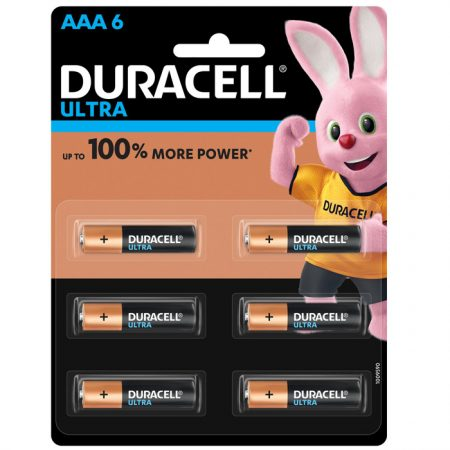 Duracell AAA Ultra Battery – Pack of 6