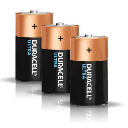 DURACELL Ultra D Size 1.5 V Battery Pack of 3