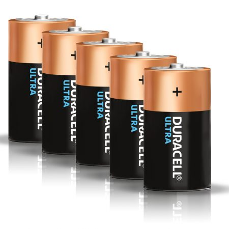 DURACELL Ultra D Size 1.5 V Battery Pack of 5