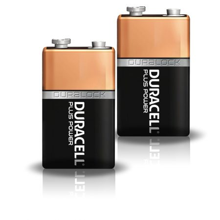 Duracell 9V Plus Power Battery – Pack of 2