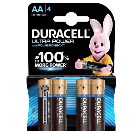 DURACELL Ultra Power AA 1.5 V Battery Pack of 4