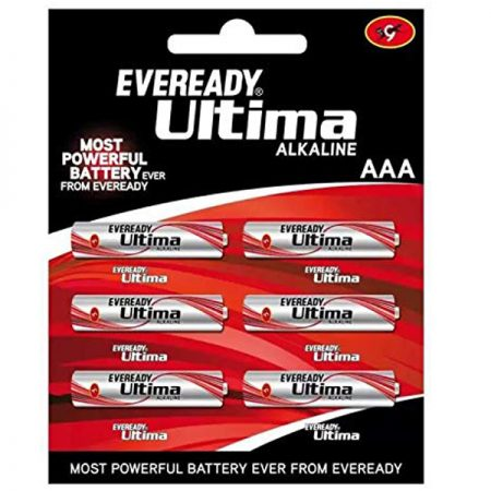 EVEREADY Ultima AAA 2112 Battery Pack of 6