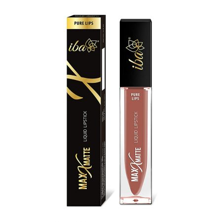 Iba Halal Care Pure Max  Matte Liquid Lipstick, FRESH PEACH – 6.8ml