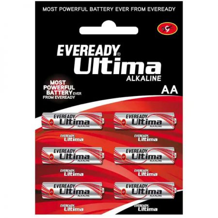 EVEREADY Ultima AA 2115 Battery Pack of 6