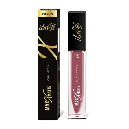 Iba Halal Care Pure Max  Matte Liquid Lipstick, JOYFUL PINK- 6.8ml