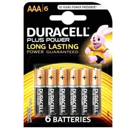 Duracell AAA Plus Power Battery – Pack of 6