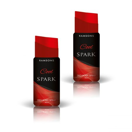 Ramsons Deo Cool Spark Deodorant  40ml pack of 2