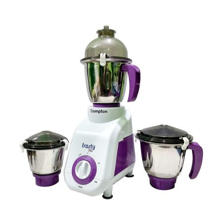 Crompton Frosty Lite Mixer Grinder Purple & White