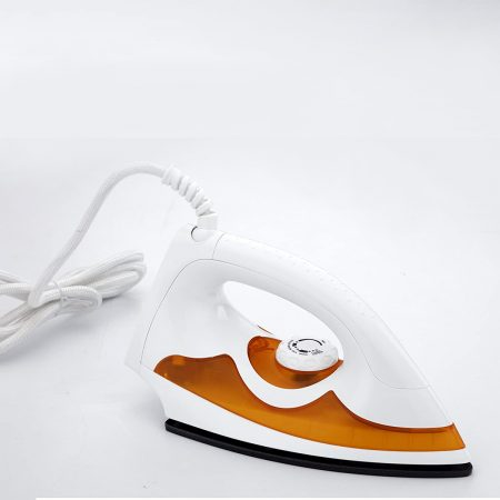 Crompton Greaves PD Plus 1000-Watt Dry Iron (White & Yellow)