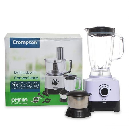 Crompton OMNIA (ACGP-OMNIA) Food Processor Black