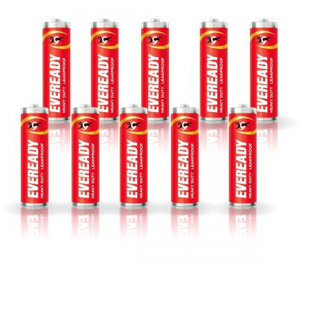 Eveready AA Batteries 1015, Heavy Duty Pack of 10