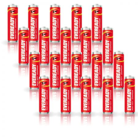 Eveready AA Batteries 1015, Heavy Duty Pack of 20