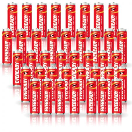 Eveready AA Batteries 1015, Heavy Duty Pack of 40