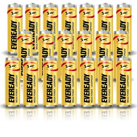 Eveready AA 1005 MEGA POWER Battery Pack of 20