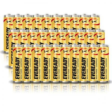 Eveready AA 1005 MEGA POWER Battery Pack of 30