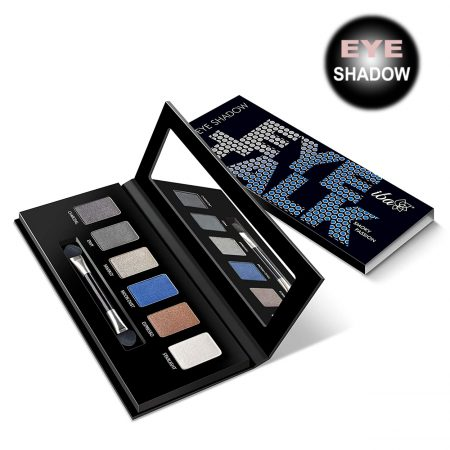 Iba Halal Care Eye Talk Hd Eye Shadow, Smoky Passion, 6 g