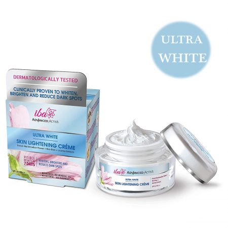Iba Halal Care Advanced Activs Ultra White Skin Lightening Cream 50gm