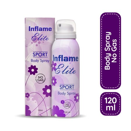 Inflame Women Elite Sport Body Spray 120ml