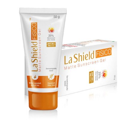 LA SHIELD Fisico Matte SPF 50+ Gel 50 gm