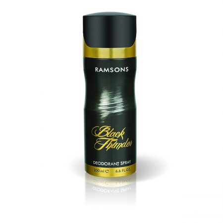 Ramsons Black Thunder Deodorant Body Spray, 200 ml Pack of 2