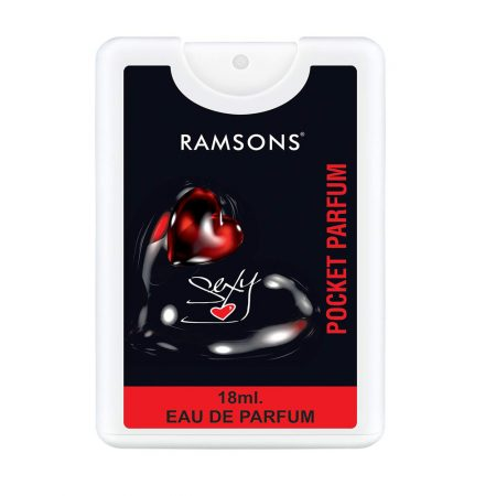 Ramsons Sexy Heart Eau De Pocket Perfume, 18ml Pack of 6