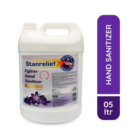 Stanrelief Fighter Hand Sanitizer 5Ltr