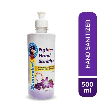 Stanrelief Fighter Hand Sanitizer 500ml Pack of 2