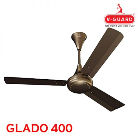 V-Guard GLADO 400 Ceiling Fan Pearl Brown
