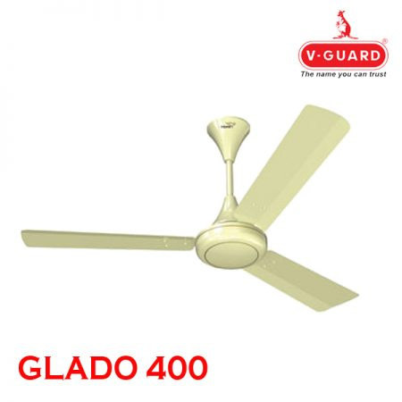 V-Guard GLADO 400 Ceiling Fan Pearl Ivory