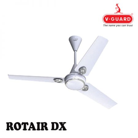 V-Guard Rotair DX Ceiling Fan White
