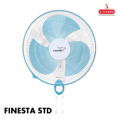 V-Guard FINESTA STD Wall Fan Blue & White