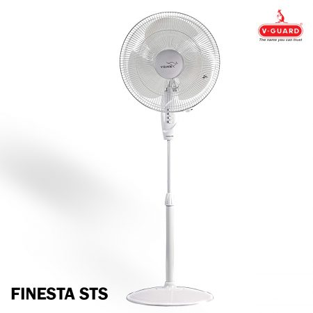 V Guard Finesta STS Pedestal Fan White