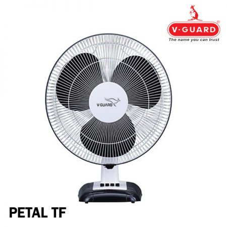 V-Guard Petal TF Table Fan White Black