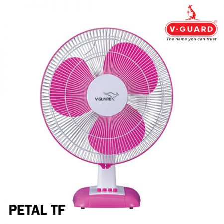 V-Guard Petal TF Table Fan Purple White (Pink)