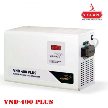 V-Guard VND 400 Plus Stabilizer for AC (Grey)