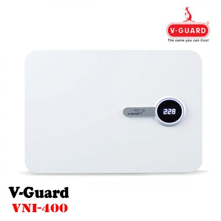 V-Guard VNI 400 Stabilizer for AC (160V to 280V) White