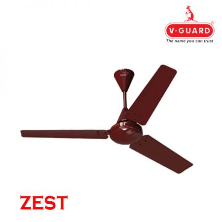 V-Guard ZEST Ceiling Fan 900mm Cherry Brown
