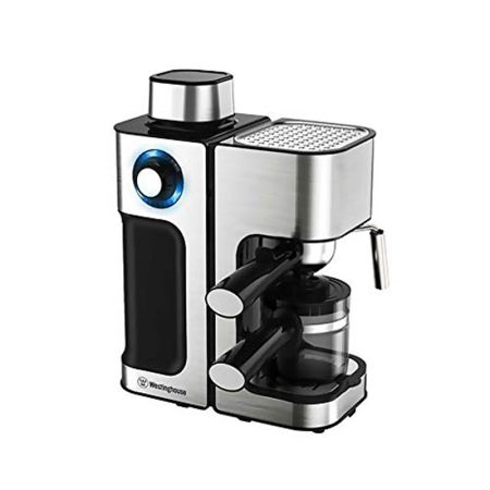 Westinghouse CM80KS-CF Coffee Maker (Black & Silver)