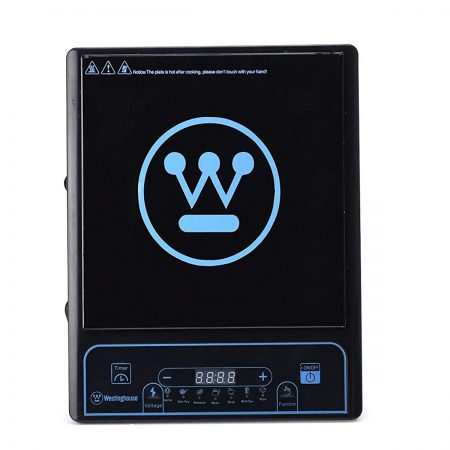 Westinghouse IC01K1P-CA Nonstick Induction Cooktop Ceramic Black
