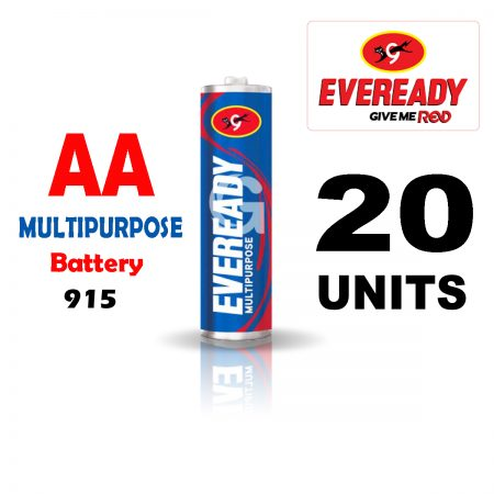 Eveready AA 915 MULTIPURPOSE Battery Pack of 20