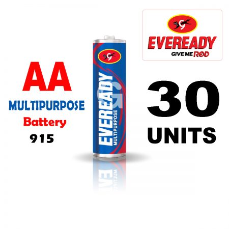 Eveready AA 915 MULTIPURPOSE Battery Pack of 30
